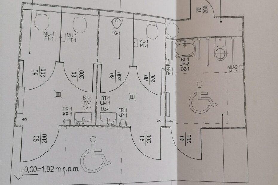 Projekt techniczny kontenera sanitarnego