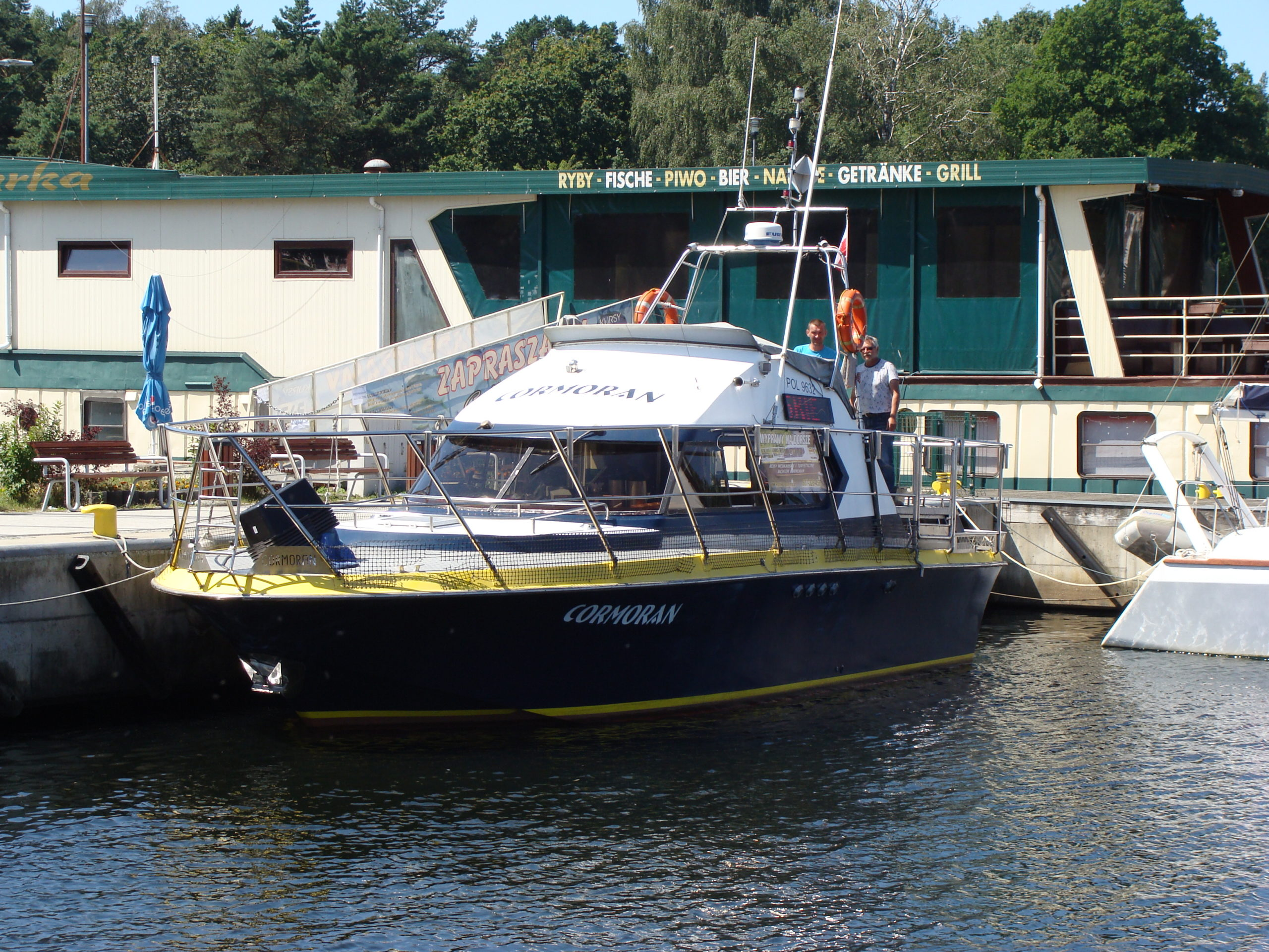 Jacht motorowy 4