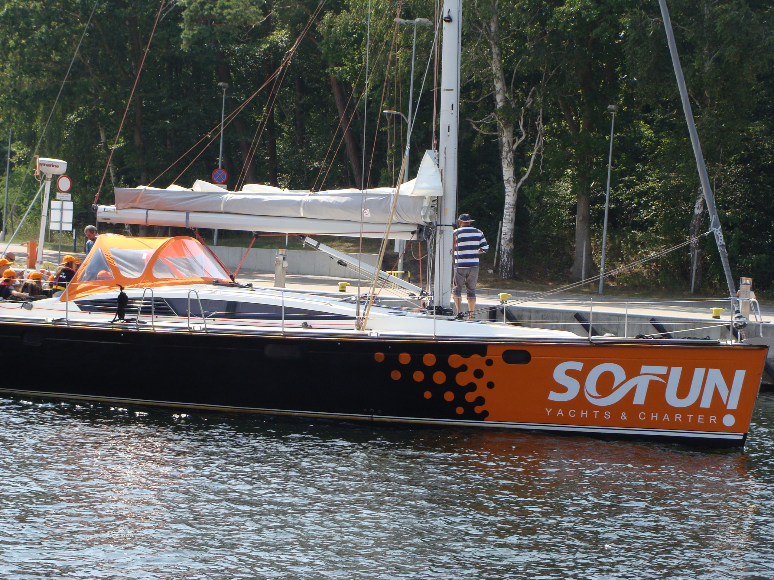 Jacht morski 3