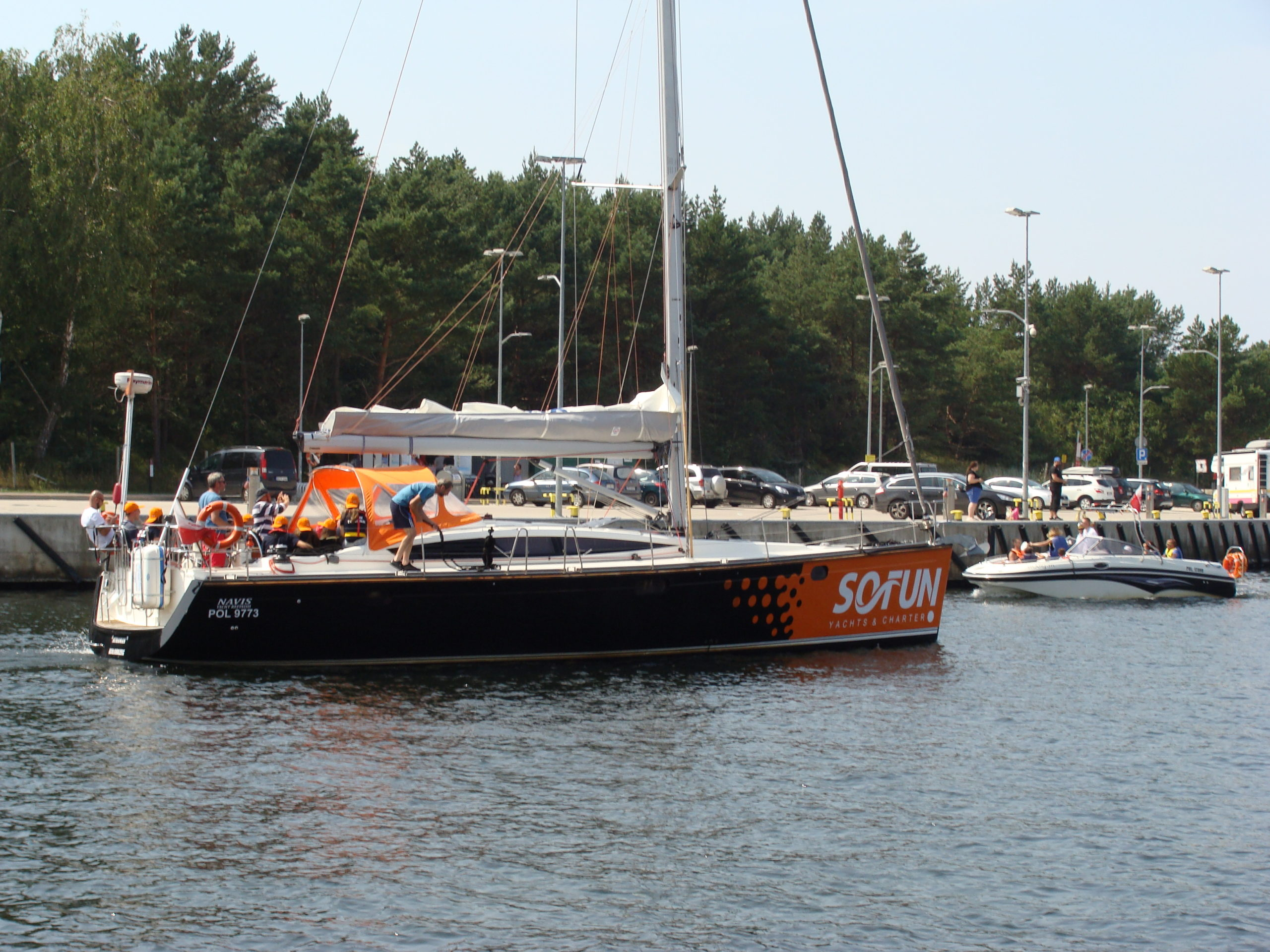 jacht morski 1